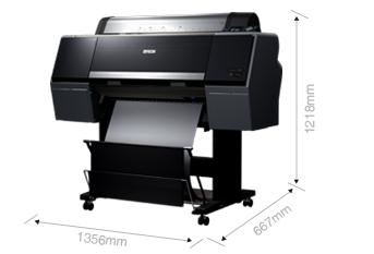 产品外观尺寸 - Epson SureColor P6080产品规格